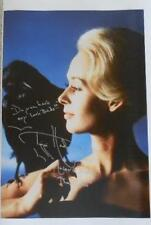 TIPPI HEDREN THE BIRDS 16x20 CANVAS INSCRIBED SIGNED AUTO ALFRED HITCHCOCK RARE!