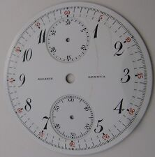 Dial Agassiz Geneva chronograph pocket watch, diameter 42.10 mm