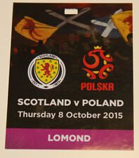 Ticket PASS VIP for collectors EURO q * Scotland Poland 2015 Glasgow