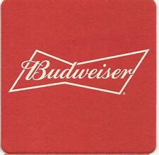 4 NEW *BUDWEISER LAGER* Beer Mats In Current Use Breweriana Collectable Pub Bar