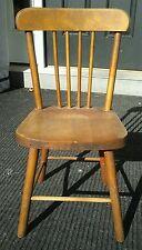 Antique Vintage PARIS MFG CO South Paris ME Child's Wood Chair No 16