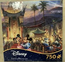 Thomas Kinkade Disney Mickey And Minnie 750 Piece Puzzle