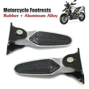 Motorcycle Rearsets Footrest Footpegs Foot Pegs Pedal Universal Aluminum Alloy