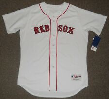 Boston Red Sox White Authentic Jersey sz 48 Majestic New w/ tags Mens