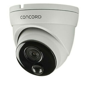 Camera IP 4K PIR Dome Concord Surveillance System Thermal Detect Technology