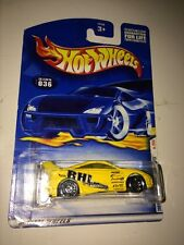 2001 HOT WHEELS first editions #036 TOYOTA CELICA YELLOW star