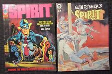 1974/81 The Spirit Magazine #1 Fn #27 Fn+ Will Eisner / Warren / Kitchen Sink