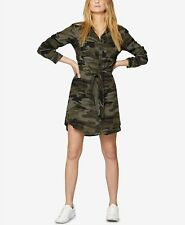 NEW Sanctuary Tali Garden-Camo Print Shirt Dress, Medium