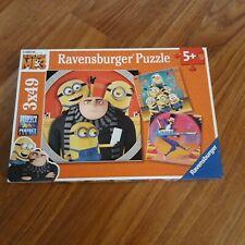 Despicable Me 3 Ravensburger Puzzle 3x49 Pieces