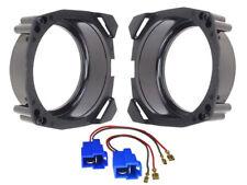 Adaptateur Haut-Parleur + Câble pour Mazda 121 130mm latérale Bac arrière
