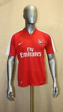 Maillot Gunners Arsenal Nike 2008/2010 domicile #8 NASRI taille L