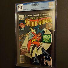 Marvel Spider-Woman #1 - 9.6 CGC High Grade key Origin Jessica Drew! 🔥🔥🔥🔥🔥