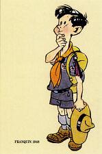 """Carte FPS """"50ans calendrier scout1948"""" André FRANQUIN 1992 NEUVE!"""