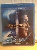 PERCY JACKSON SEA OF MONSTERS new blu-ray + dvd LOGAN LERMAN ALEXANDRA DADDARIO