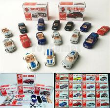 16 pcs Famous Cars Vehicles 4D Model Kits Toys BMW Nissan Ferrari Benz Audi