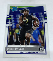 DeeJay Dallas 2020 Donruss Rated Rookie Optic Preview Fanatics Exclusive RC P345