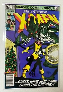 Uncanny X-Men #143 Newsstand Marvel 1st Series 8.0 VF (1981)