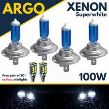 H7 White Xenon Halogen 100w Headlight Headlamp Bulbs 499 501 Led Side Light Bulb
