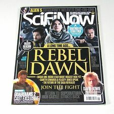 Sci-Fi Now  UK Magazine ISSUE  126  STAR WARS ROGUE ONE  DAVID BOWIE