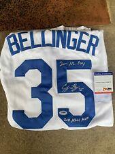 "Cody Bellinger Signed Dodgers Jersey ""2017 NL ROY, 2018 NLCS MVP"" PSA DNA"