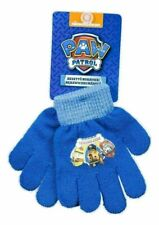 Paw Patrol Gloves Boys Winter Finger Warm Character Accessories Hand Blue New UK