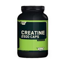 Optimum Nutrition CREATINE 2500 CAPS Strength Power Energy Endurance 300 Caps
