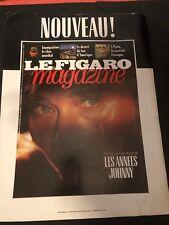Publicité Johnny Hallyday -  Smet - Magazine A3 poster Musique  -JH1