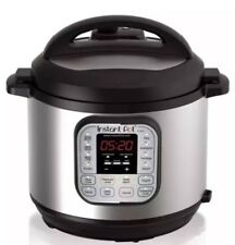 Instant Pot IP-DUO60 V3 6 Qt.7 in 1 Programmable Stainless Steel Pressure Cooker