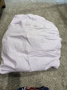 Light Purple Lilac Crib Fitted Sheet, Parent's Choice