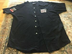 New York Black Yankees NLBM Genuine Black Jersey Mens XXL Negro League
