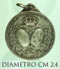 2494) Medaglia Matrimonio Vittorio Emanuele III Elena del Montenegro