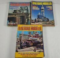 Railroad Modeler Magazine Lot Of 25 1972 1973 1974