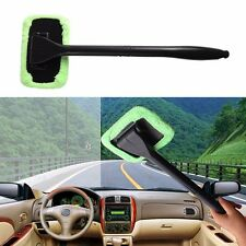 Windshield Wonder Car Glass Cleaner Demister Wiper Handle Wand Cloth Microfiber