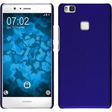 Huawei P8 Lite estuche hardcover goma azul protector de pantalla