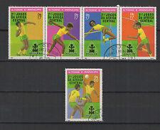 sport 1981 St Tome et Principe série de 5 timbres oblitérés / T1390