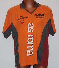 Maglia As roma shirt Jersey training Diadora Ina Assitalia 1998 1999 Match Worn