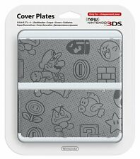 NEW 3DS Official Faceplate Felt Mario no.012 Cover Plates Japan Import