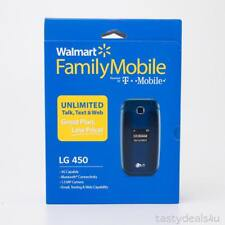 LG 450 Walmart Family Mobile for T-Mobile LG450 TMobile Flip Phone