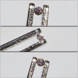 Three Argyle Pink Diamonds with Certificate confirming Argyle origin
