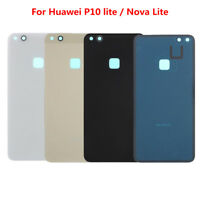 Luxury Rear Battery Rear Back Cover Door Glass Case Replace For Huawei P10 Lite