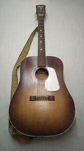 Vintge KAY Auditorium Acoustic Guitar 1960's Collectors Music piece great shape