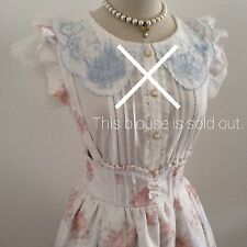 LIZ LISA Suspender Skirt Cinderella Dress Japan Kawaii Gyaru Fashion #1160-27