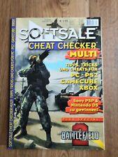 SOFTSALE CHEAT CHECKER MAGAZIN 2005 XBOX GAMECUBE PS2 PC