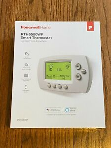 New Honeywell RTH6580WF Wi-Fi 7-Day Programmable Thermostat White Residential