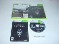 THE ELDER SCROLLS V: SKYRIM game case w/ manual - Microsoft XBOX 360