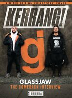 Kerrang 1700 December 9th 2017 Glassjaw Limited Edition Collectors cover