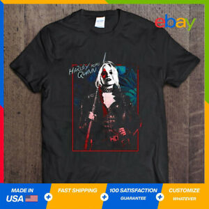 Harley Quinn - The Suicide Squad Movie Classic Cool T-Shirt Crewneck S-5XL