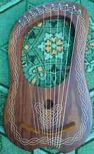 Lyre Harp 10 Metal Strings Rosewood Lyra Harp Sheesham wood Free Case Tuning Key