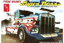 Kenworth Super Boss Drag Truck Tyrone Malone 1/25 scale skill 3 AMT kit#930