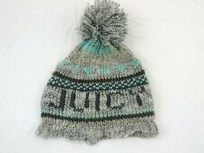 Juicy Couture  Women Beanie Cap One Size Gray